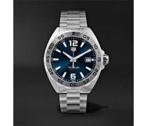 Formula 1 Quartz 41mm Steel Watch - Silver
