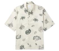 Carsten Printed Cotton-voile Shirt
