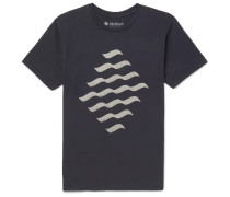 Reflections Printed Cotton-jersey T-shirt