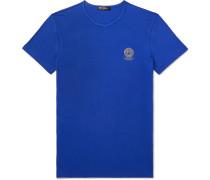 Slim-Fit Logo-Print Stretch-Cotton Jersey T-Shirt