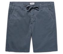 Slim-fit Cotton-twill Drawstring Shorts