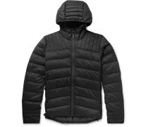 65066f5a39c5 Brookvale Slim-fit Quilted Shell Hooded Down Jacket - Black. Canada Goose