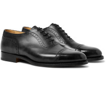 Trenton Cap-Toe Leather Oxford Brogues