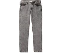 Slim-fit Denim Jeans - Gray