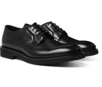Ludlow Polished-Leather Derby Shoes