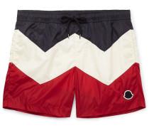 Mid-length Colour-block Swim Shorts - Multi