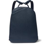 My Logo Pebble-grain Leather Backpack