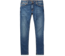 Skinny Lin Organic Stretch-denim Jeans - Blue