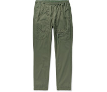 Educator Slim-Fit Tapered COOLMAX Cotton-Blend Ripstop Trousers