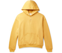 Oversized Loopback Cotton-Jersey Hoodie