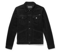 Washed Stretch-cotton Corduroy Jacket
