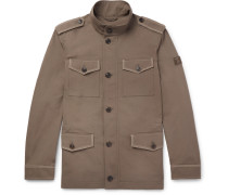 Cotton And Linen-blend Field Jacket