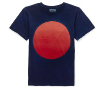Nt190 Printed Cotton-jersey T-shirt