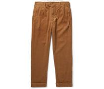 Andover Cotton-corduroy Trousers - Tan