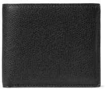 Pebble-grain Leather Billfold Wallet