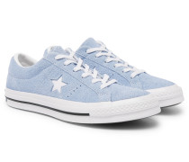 One Star Suede Sneakers