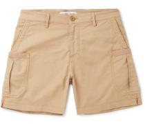 Bulldog Slim-Fit Linen-Blend Cargo Shorts