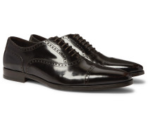 Shaw Polished-Leather Brogues