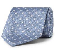 8.5cm Polka-Dot Silk-Jacquard Tie