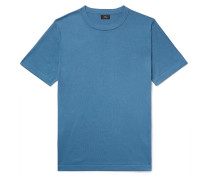 Pima Cotton and Silk-Blend T-Shirt