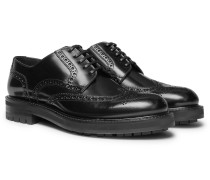 Polished-leather Brogues