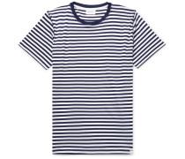 Niels Striped Cotton-Jersey T-Shirt