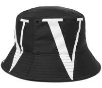 Valentino Garavani Logo-Print Canvas Bucket Hat