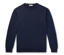 Slim-Fit Merino Wool, Baby Alpaca and Silk-Blend Sweater