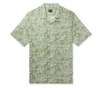 + Liberty London Camp-Collar Printed Cotton-Poplin Shirt