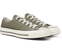 1970s Chuck Taylor All Star Canvas Sneakers - Forest green