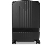 #MY4810 Cabin Compact 55cm Leather-Trimmed Polycarbonate Suitcase