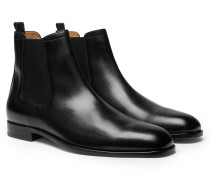 Cardiff Leather Chelsea Boots - Black