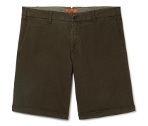 Stretch-Cotton Ripstop Shorts