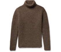 Alpaca-blend Rollneck Sweater