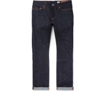 Bowie Slim-fit Raw Selvedge Denim Jeans - Indigo
