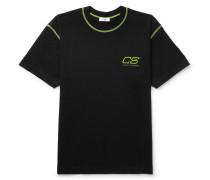 Ridley Logo-print Cotton-jersey T-shirt - Black