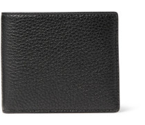 Full-grain Leather Billfold Wallet - Black