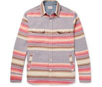 Striped Brushed Cotton Shirt