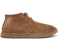 Stag Suede Chukka Boots - Brown
