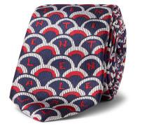 Valentino Garavani 6cm Silk-twill Tie - Navy