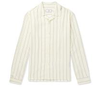 Pinstriped Woven Shirt