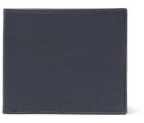 Full-grain Leather Billfold Wallet - Navy