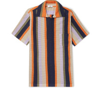 Wes Striped Knitted Cotton Shirt