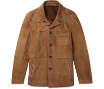 Shearling Jacket - Brown