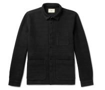 Textured Cotton-jersey Jacket