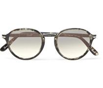Round-frame Tortoiseshell Acetate Sunglasses - Tortoiseshell
