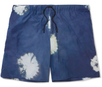 Perry D Mid-length Printed Shell Swim Shorts