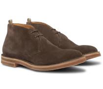Waldorf Suede Chukka Boots - Brown