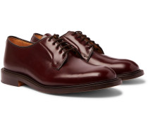 Robert Polished-Leather Derby Shoes