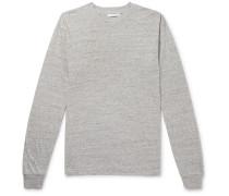 University Oversized Mélange Cotton-Blend Jersey T-shirt
